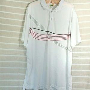 IZOD Perform X Golf Shirt Size XL